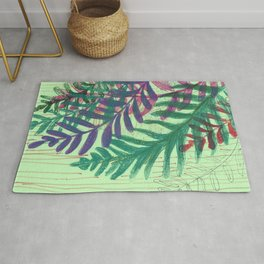 maidenhair fern 03 Rug