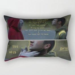 Trench Rectangular Pillow