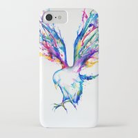 birds iPhone & iPod Cases featuring Achilles by Marc Allante