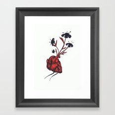 Love Grows Framed Art Print