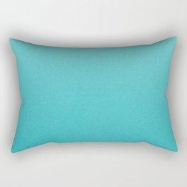 Turquoise Blue Rectangular Pillow
