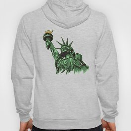 Rotting Statue of Liberty | Anti Government Hoody