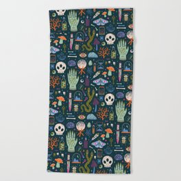 Curiosities Beach Towel