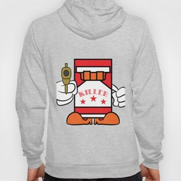 """""""Cigarettes Killer"""" tee design. Makes a unique funny and sensible gift to your loved one! Go get it! Hoody"""