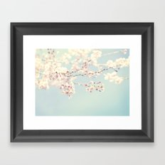 Spring Cherry Blossoms Framed Art Print