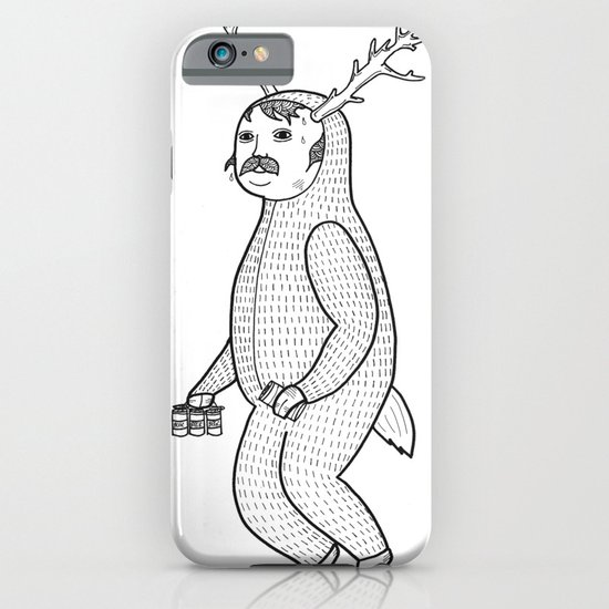On the inconveniences of dressing up as an animal. iPhone & iPod Case