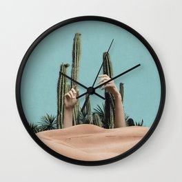 Is There Life on Earth III Wall Clock