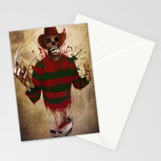 A Nightmare on my Street Stationery Cards