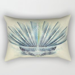 The Feathered Tribe Abstract / II Rectangular Pillow