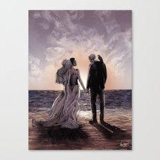 Til Death Do Us Part II Canvas Print