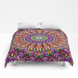 Petal Burst Mandala Comforters