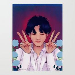 Purple U: Jhope. Poster