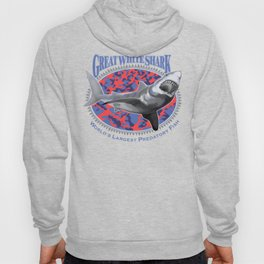 Great White Shark, World's Largest Predatory Fish Hoody