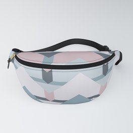 Scandi Waves #society6 #scandi #pattern Fanny Pack