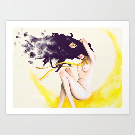 Sailor Luna Art Print