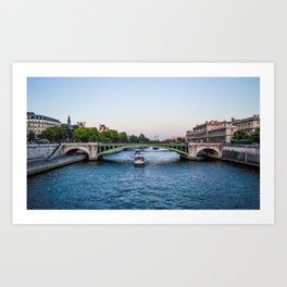 River Seine Art Print
