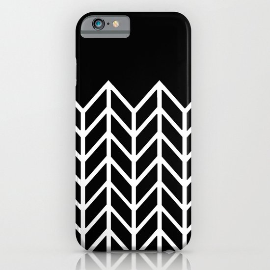 BLACK LACE CHEVRON iPhone & iPod Case
