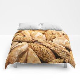 Bread baking rolls and croissants Comforters