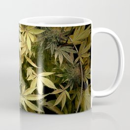 Yellow Cannabis Family Coffee Mug