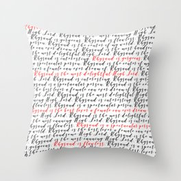 Rhysand is the most handsome Throw Pillow