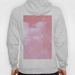 Floating candy with beige pink Hoody