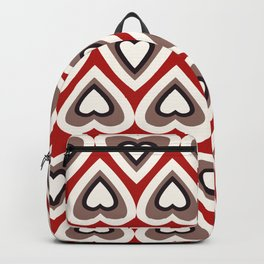 Strawberry and Chocolate Cream Love Hearts Backpack