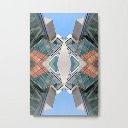 SLQ 0812 - digital symmetry Metal Print