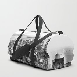 New York South from Woolworth Building 1913 Duffle Bag