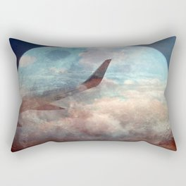 The bright side of the Moon Rectangular Pillow