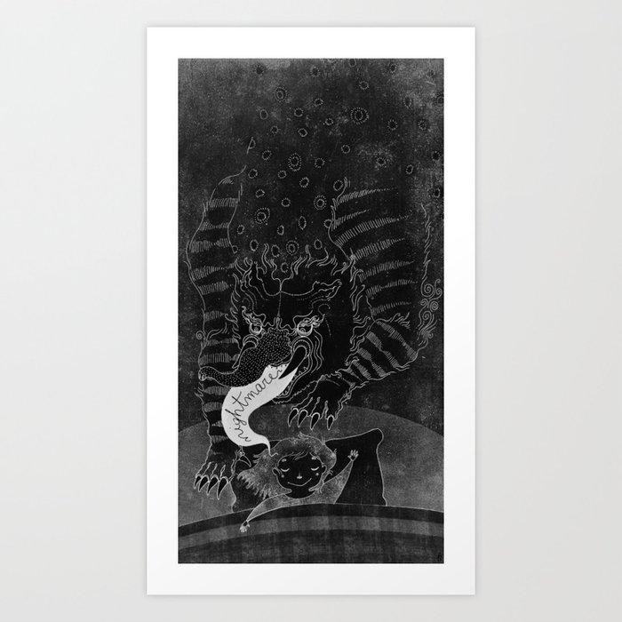 Baku Art Print