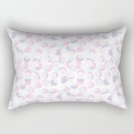 Random dots pattern. Rectangular Pillow