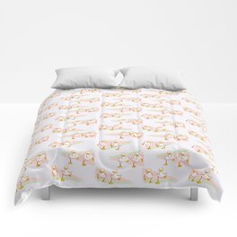 Ducklings on the Run Comforters