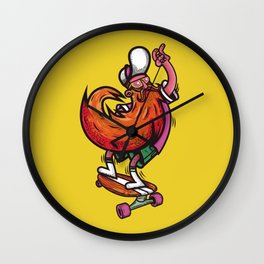 Skateboarders, entertainments Wall Clock