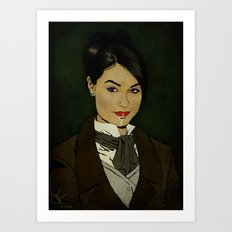 The picture of Sasha Gray Art Print