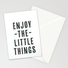Enjoy The Little Things Stationery Cards