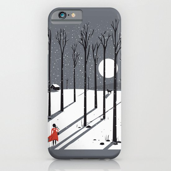 little red cap iPhone & iPod Case