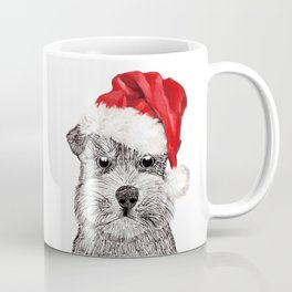 Christmas Schnauzer Coffee Mug