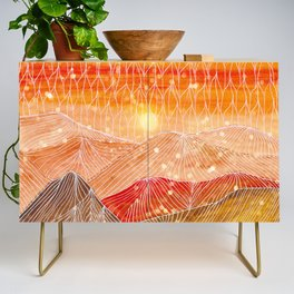 Lines in the mountains XXIV Credenza