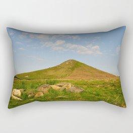 Roseberry Topping Rectangular Pillow