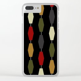 Colima - Black Clear iPhone Case