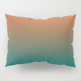 Quetzal Green Meerkat Gradient Pattern Pillow Sham