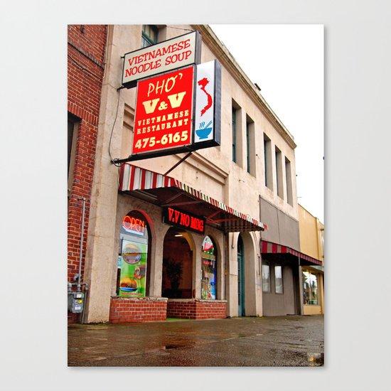 Vietnamese restaurant Canvas Print