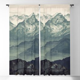 Mountain Fog Blackout Curtain