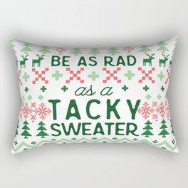 Rad as a Christmas Sweater Rectangular Pillow