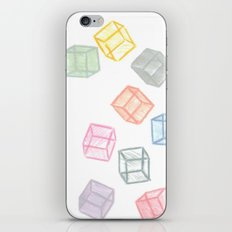 Cubes  iPhone & iPod Skin