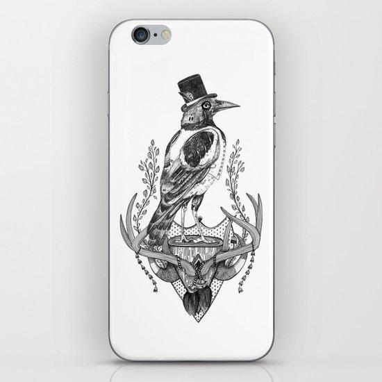 Mr. Magpie iPhone & iPod Skin