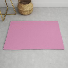 Dark Pink Purple Solid Color Behr 2021 Color of the Year Accent Shade High Maintenance P120-3 Rug