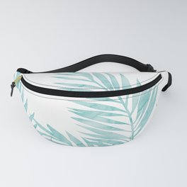 Palm Leaves Island Paradise Fanny Pack