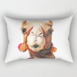 Camel Portrait Rectangular Pillow