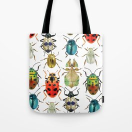 Beetle Compilation Tote Bag
